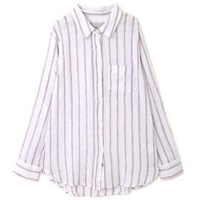 ROSE BUD / ローズ バッド [RAILS]ロングスリーブストライプシャツ