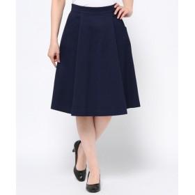 S size ONWARD(小さいサイズ) / エスサイズオンワード ('15春)ライトドビー スカート