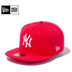 セール21%OFF!【メーカー取次】 NEW ERA ニューエラ 59FIFTY MLB ニューヨーク・ヤンキース ラヴァレッドXホワイト 11308549 キャップ ブランド