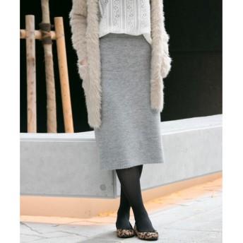 URBAN RESEARCH / アーバンリサーチ 【WEB限定】ニュアンスカラーニットスカート