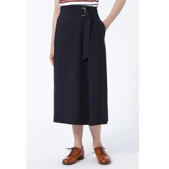 HUMAN WOMAN / ヒューマンウーマン コットンストレッチブロードスカート