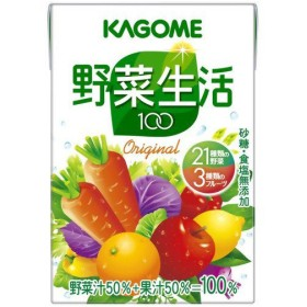 【ケース販売】カゴメ 野菜生活100オリジナル 100ml36本