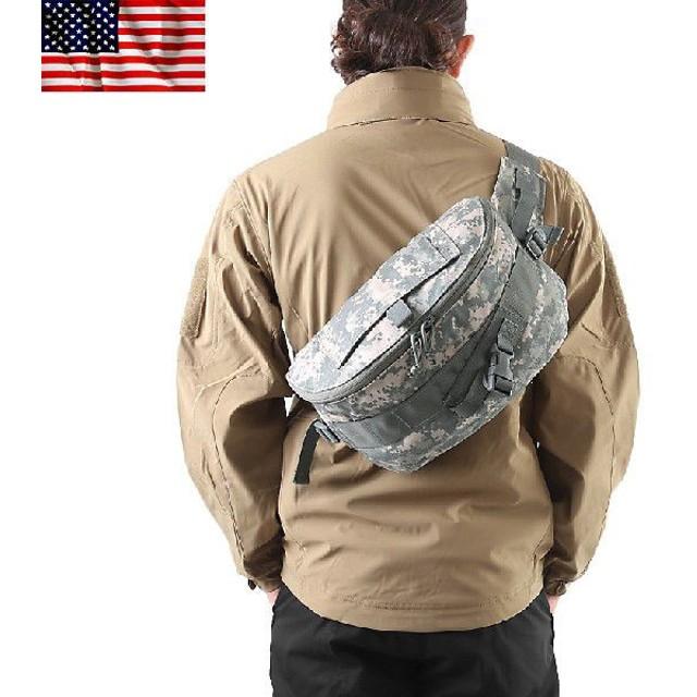 実物 新品 米軍North American Rescue製Combat Casualty Response Bag メンズ ボディバッグ 迷彩 カモフラ デッドストック