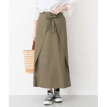 URBAN RESEARCH / アーバンリサーチ 【TRILL掲載】フロントラップスカート