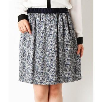 SHIPS for women / シップスウィメン シルク リバティプリント スカート