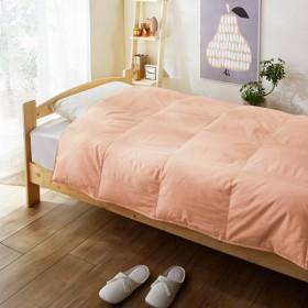 タオルケット ケット 羽毛肌掛け布団 カラー ピンク