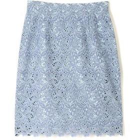 PROPORTION BODY DRESSING / プロポーションボディドレッシング  シャンブレーレーススカート