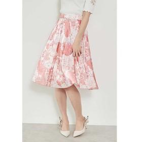 PROPORTION BODY DRESSING / プロポーションボディドレッシング  ◆ビッグフラワーエアメタルプリントスカート