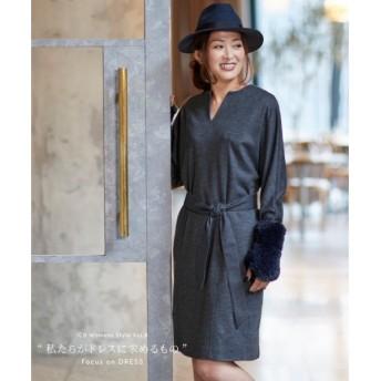 ICB / アイシービー 【00.0サイズ有り】Wool Jersey ワンピース