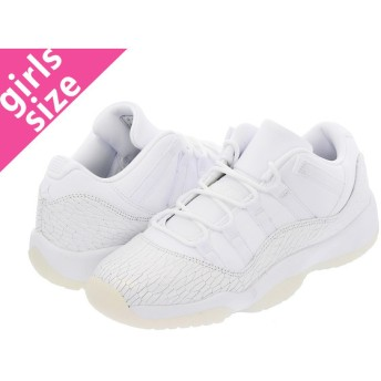 NIKE AIR JORDAN 11 RETRO LOW GG 【HERIESS】 ナイキ エア ジョーダン 11 レトロ ロー GG WHITE/WHITE/PURE PLATINIUM