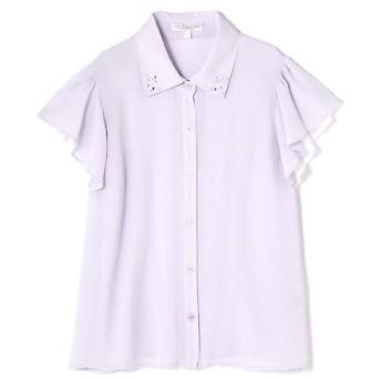 PROPORTION BODY DRESSING / プロポーションボディドレッシング  フリルスリーブシャツ
