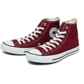 【converse】 コンバース CANVAS ALL STAR HI キャンバス オールスター ハイ MAROON