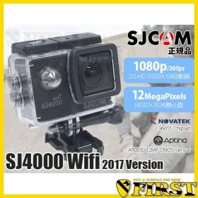 SJCAM SJ4000 Wifi デジタルアクションカメラ ブラック 車載 防犯 撮影 小型