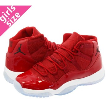 NIKE AIR JORDAN 11 RETRO BG 【WIN LIKE '96】 ナイキ エア ジョーダン 11 レトロ BG GYM RED/WHITE/BLACK