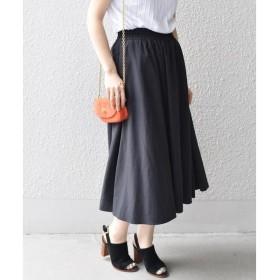 SHIPS for women / シップスウィメン カラーギャザースカート◇