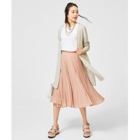 自由区 / ジユウク 【洗える】サーキュラープリーツ スカート