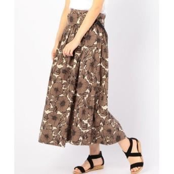 SHIPS for women / シップスウィメン soie:コットンバティックプリントスカート