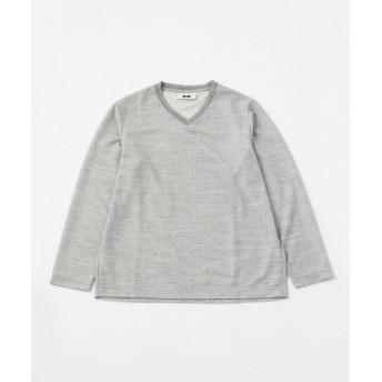 JOSEPH ABBOUD / ジョセフ アブード 【キングサイズ】ウォッシャブルウールTOPカノコ Tシャツ