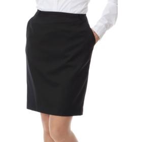 SHIPS for women / シップスウィメン ストレッチ ブラックスーツスカート