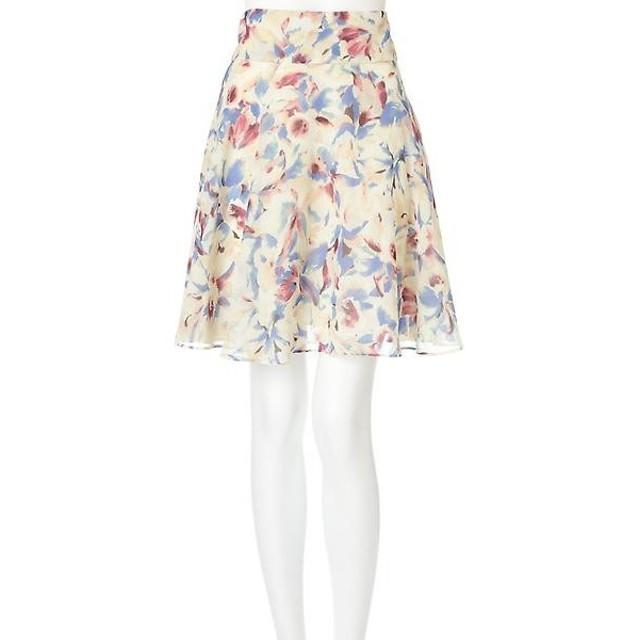 PROPORTION BODY DRESSING / プロポーションボディドレッシング  《EDIT COLOGNE》フラワープリントスカート