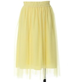 Maglie L / マーリエ (エルサイズ) チュールドッキングフレアスカート