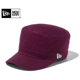 セール20%OFF!【メーカー取次】 NEW ERA ニューエラ WM-01 コットン ワークキャップ マルーン 11135231 メンズ レディース 帽子 ミリタリー エンジ ブランド