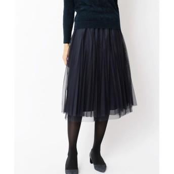LUMINOSO COMMECA / ルミノーゾ・コムサ チューガンジープリーツスカート