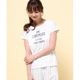 L size ONWARD(大きいサイズ) / エルサイズオンワード B・BロゴTシャツ Tシャツ