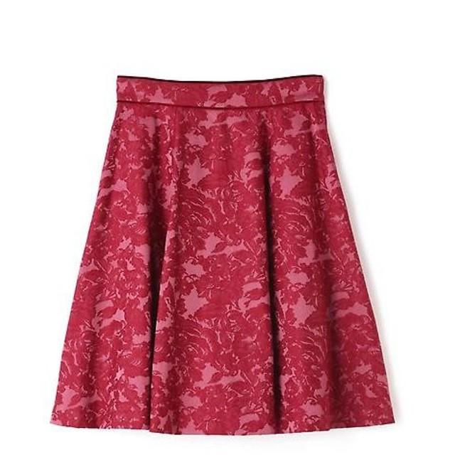 PROPORTION BODY DRESSING / プロポーションボディドレッシング  ローズジャガードフレアスカート