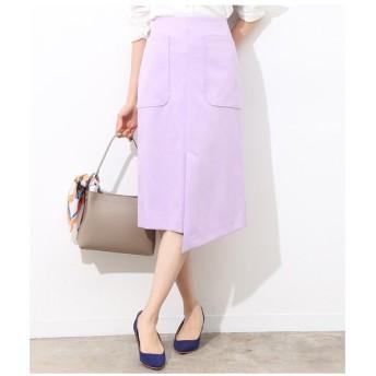 ROPE' / ロペ フロントアシメパチポケタイトスカート