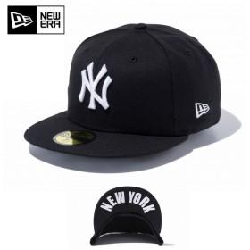 セール20%OFF!【メーカー取次】 NEW ERA ニューエラ 59FIFTY UNDERVISOR ニューヨーク・ヤンキース ブラック×ホワイト NEW YORK 11308537 キャップ ブランド