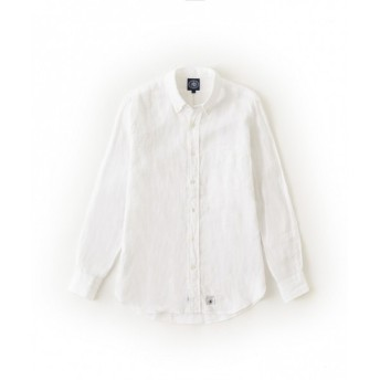 J.PRESS / ジェイプレス リネン シャンブレー シャツ
