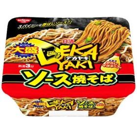 【ケース販売】日清 デカヤキ 大盛 ソース焼そば からしマヨネーズ付 154g×12個