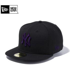 セール20%OFF!【メーカー取次】 NEW ERA ニューエラ 59FIFTY MLB ニューヨーク・ヤンキース ブラックXパープル 11308574 キャップ ブランド
