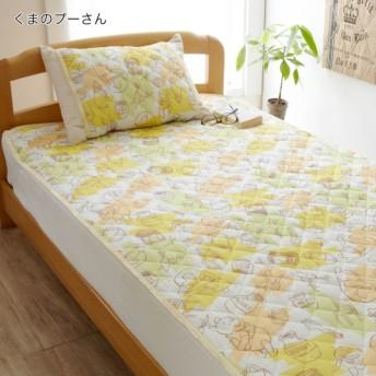 布団カバー シーツ 敷きパッド パッドシーツ ディズニー 綿100%敷きパッド 枕パッド 単品 くまのプーさん 敷きパッド