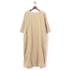 BEARDSLEY / ビアズリー ポケットシャツワンピース