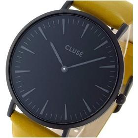 クルース 腕時計 ユニセックス CLUSE CL18508 ブラック文字盤 ラ・ボエーム デニムベルト 38mm