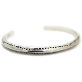 ブレスレット・バングル - Raffinito 【Silver925 シンプルデザインバングル】 メンズ レディース カリフォルニアテイスト ブレスレット ネイティブ RNA-006 シルバー925 フリーサイズ
