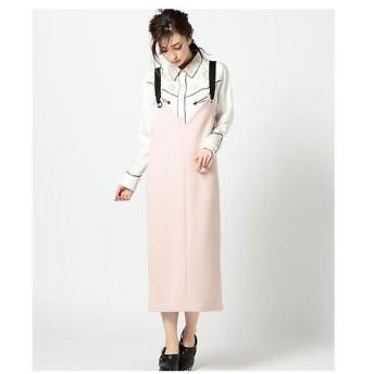ROSE BUD / ローズ バッド リングストラップジャンパースカート