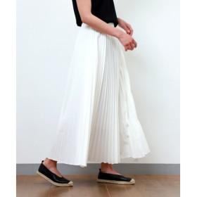MARcourt / マーコート pleats long SK