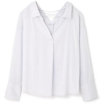 PROPORTION BODY DRESSING / プロポーションボディドレッシング  バッククロスシャツ