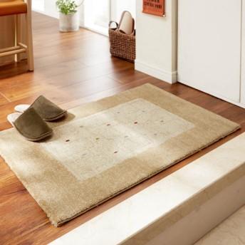 玄関マット おしゃれ マット ベルギー製ウィルトン織り玄関マット 約70×120