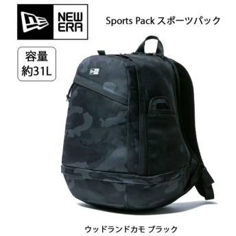 NEWERA ニューエラ Sports Pack スポーツパック ウッドランドカモ ブラック 11474273 【カバン】 バックパック リュック リュックサック アウトドア