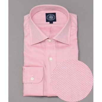 J.PRESS / ジェイプレス スーピマドレスツイル ワイドカラーシャツ