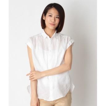 SHIPS for women / シップスウィメン フレンチススリーブシャツ