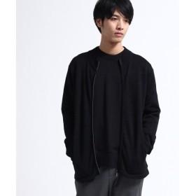 tk.TAKEO KIKUCHI / ティーケー タケオキクチ ジップカーディガン