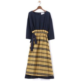 BEARDSLEY / ビアズリー 巻きスカート付きワンピース