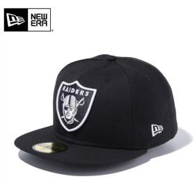 セール20%OFF!【メーカー取次】 NEW ERA ニューエラ 59FIFTY NFL レイダース ブラック 11434018 キャップ ブランド
