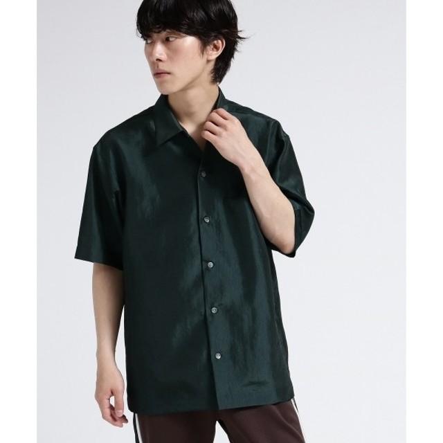 tk.TAKEO KIKUCHI / ティーケー タケオキクチ 玉虫オーバーシャツ