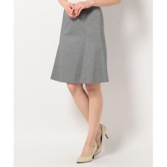 S size ONWARD(小さいサイズ) / エスサイズオンワード 【洗える&セットアップ対応】ハイゲージモクロディ スカート